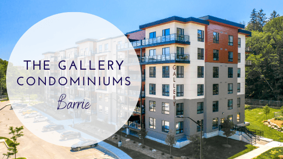 Our New Listing in the Gallery Condos in Barrie
